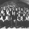 Franz Watz mit seinem Schülerorchester