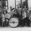 Franz Marx mit seinem Schülerorchester