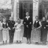 Jahrgang 1940 mit Lehrerin Margarete Mihai