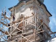 Renovierung der katholischen Kirche 2005